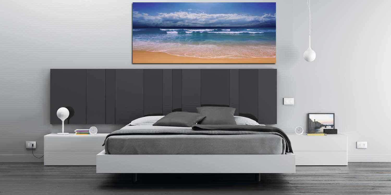Fotos en lienzo paisajes del mar para tu dormitorio for Cuadros modernos decoracion para tu dormitorio living
